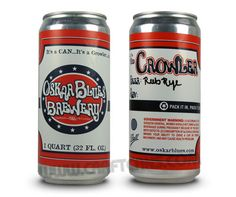 The Crowler™ from Oskar Blues Brewery | CraftCans.com - News and Reviews for the Canned Beer Revolution