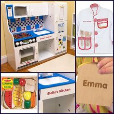 """Little chefs deserve to prep their meals with a """"personal"""" touch!"""