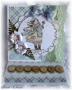 Card created for The Scrapbook Store, using a range of their wonderful products as part of the DT.