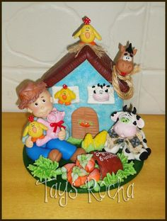 Little Farm #biscuit #country #party
