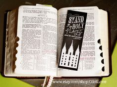 Stand In Holy Places (2013 YW/YM Theme) set of TEN 2x6 Bookmarks