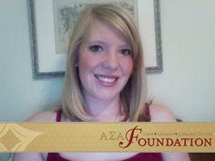 Madalyn Holyfield, Gamma Mu - Past Presidents' Endowed Founders' Memorial Scholarship recipient