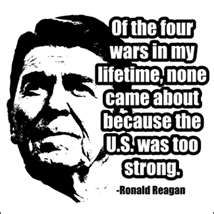 Ronald Reagan: U.S Armed Forces - We Must Fight - President Reagan (HD): http://youtu.be/tpH5L8zCtSk