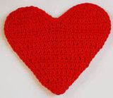 Crocheted Heart Motif