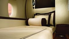 SQ First Class bed on the A380...alas, maybe one day :-)
