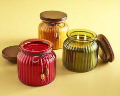 Pier 1 Heritage Filled Candles are pretty enough to give or enjoy for yourself