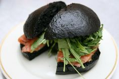 Squid Ink bread!