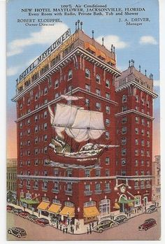 Mayflower Hotel Jacksonville Florida