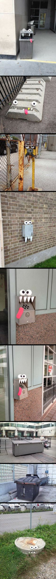 Monsters are everywhere…