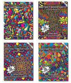 Kendall Bohn adult coloring books ...