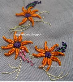 dimensional brazilian embroidery