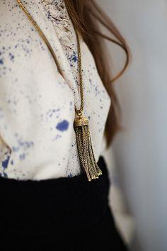 necklac fashiondrop, style woman, necklaces, fashion accessori, shirt, cosmos pendant