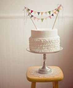 cute birthday cake banner!
