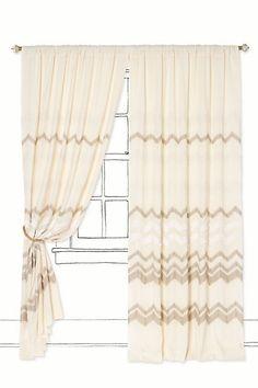 Kinematic Curtain - Anthropologie.com