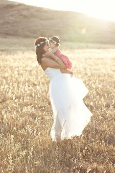 Golden Hour Sunlight sunset mother daughter photography mom and baby