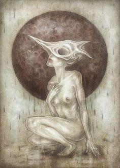 """Bones.Rain"" Art Print by Mokinzi on Society6."