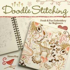 I like hand stitching.