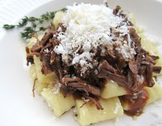 Cook's Book: Handmade Gnocchi and Balsamic Braised Beef
