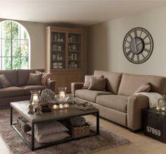 Welke woonstijl ligt jou het best landelijke stijl on pinterest tv wall units cottages and - Moderne lounge stijl ...