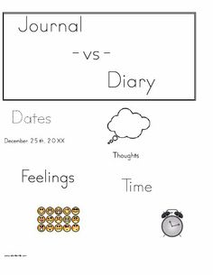 Journal vs Diary It's a great time of year to get started.  2014 is almost here!  We have had so much to be grateful for:)
