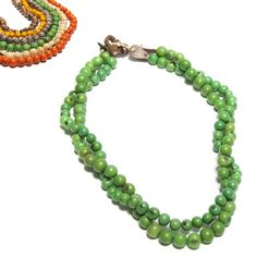 Double-Strand Acai Bead #Necklaces  Country of Origin: Brazil
