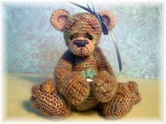 Thread Crochet Bear Pattern #2