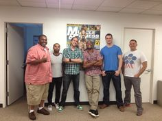 Anderson Silva dropped by the Muscle & Fitness office today!