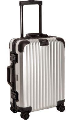 Holiday Travel Essentials: RIMOWA  Aluminum Stealth Cabin Multiwheel® IATA