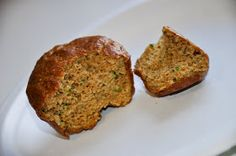 Kimbo's Breakfast: Pumpkin Zucchini Muffins (low carb, high protein, gluten free))