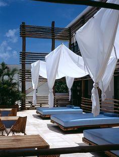 Hotel Deseo, Playa del Carmen, Mexico.