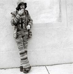 The Crochet Man, Boston, 1968 | Flickr - Photo Sharing! #k2yhe
