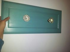 Robe hanger for bedroom with crystal door knobs for bedroom