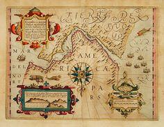 Publisher:MERCATOR, G. / HONDIUS, J.  Title: Exquilita.. Freti Magellanici Facies.  Published in: Amsterdam, 1630