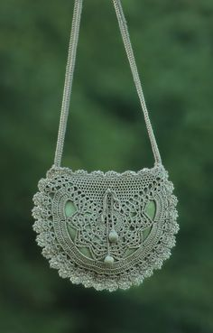 crochet purse...