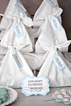 Stork bags for favors