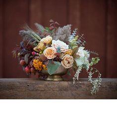 Brides: Fall Wedding Centerpieces    Wedding Flowers   Wedding Ideas   Brides.com