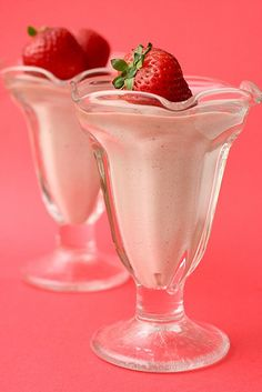 strawberry mousse by annieseats, via Flickr