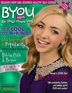 Edge of Insanity: BYou Magazine- Be Your Own Self! #Tweens