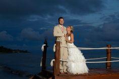 What a sweet wedding photo! #DestinationWeddings #Mexico