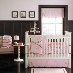 Blossom 4 Piece Baby Crib Bedding Set with Bumper by MiGi