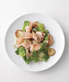 Salmon and Savoy Cabbage Hash from realsimple.com #myplate #protein #vegetables