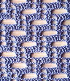 crochet stitch №167
