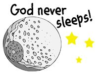 Children will have a blast learning about the Moon, and how even when they are fast asleep, God is still watching over   them.