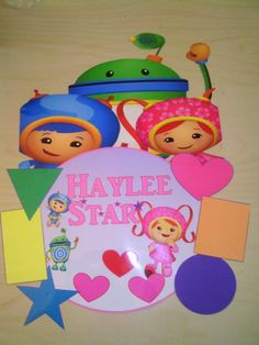 Team Umizoomi Birthday/Bedroom Door Sign