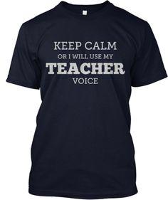 KEEPCALM ORIWILLUSEMY TEACHER VOICE