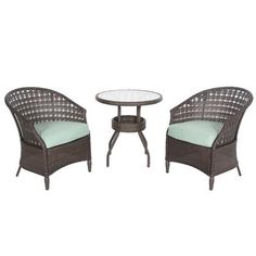 Hampton Bay - HAVER HILL IV  3pc. Woven Bistro Set - 14H-062-3B-V3 - Home Depot Canada