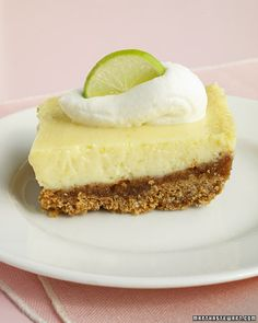 Key Lime Bars... This recipe is based on the famous Key lime pie from Joe's Stone Crab restaurant in Miami Beach