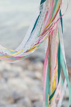streamers and lace