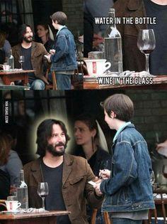 Keanu Reeves is Jesus!