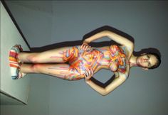 3D Printing meets Bodypainting / Mr Shiz / My3dtwin http://www.ilovebodyart.com/3d-printing-bodypainting/